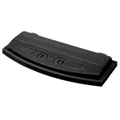 Pokrywa doakwarium 80x35, profilowana, czarna firmy Wromak
