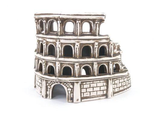 Ozdoba do akwarium, zamek - Rzymskie Koloseum