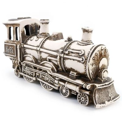 Ozdoba doakwarium Lokomotywa Parowóz Orient Express