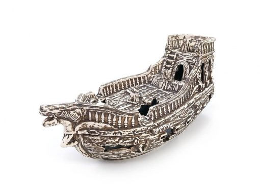 Ozdoba do akwarium statek piratów Czarna Perła