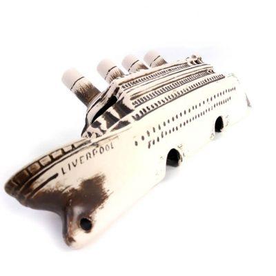 Ozdoba doakwarium, wrak liniowca Titanic