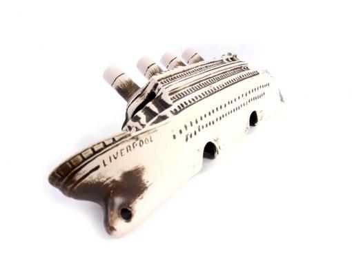 Ozdoba do akwarium, wrak liniowca Titanic