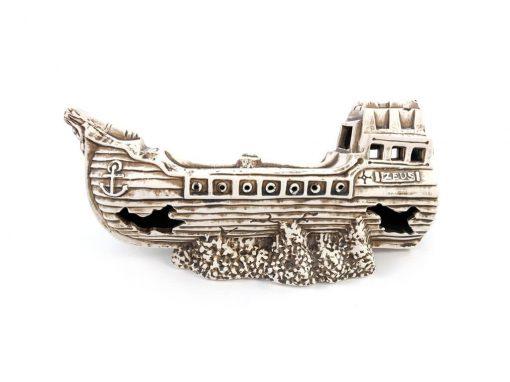 Ozdoba do akwarium, wrak, statek piratów ZEUS